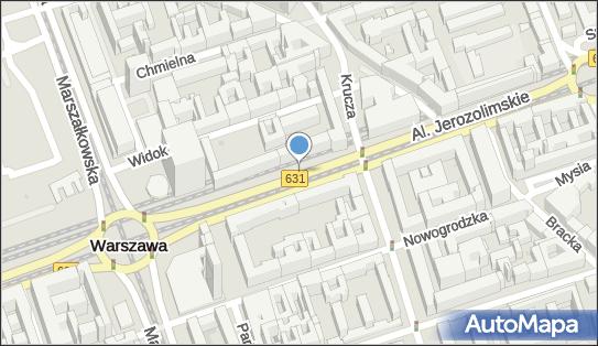 Parkomat, Aleje Jerozolimskie, Warszawa - Parkomat