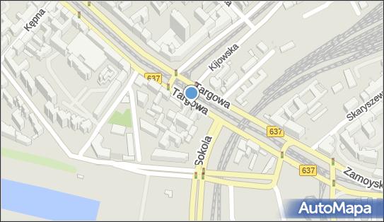 Parkomat, Targowa637 17, Warszawa 03-728 - Parkomat