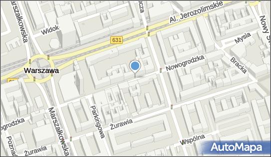 Parkomat, Nowogrodzka 16, Warszawa 00-511 - Parkomat