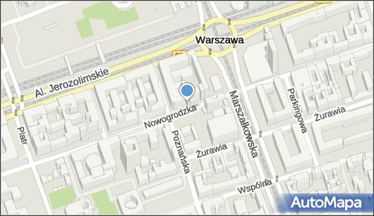 Parkomat, Nowogrodzka 38, Warszawa 00-691 - Parkomat