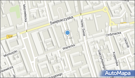 Parkomat, Warecka 8, Warszawa 00-040 - Parkomat
