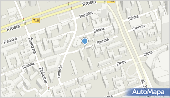 Parkomat, Sienna, Warszawa 00-121, 00-815, 00-820, 00-825, 00-833 - Parkomat