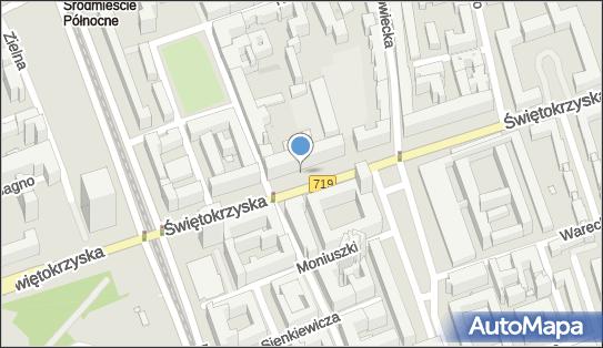 Parkomat, Świętokrzyska719 18p, Warszawa 00-052 - Parkomat