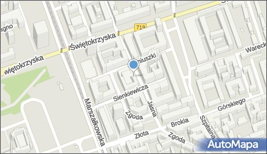 Parkomat, Jasna 5, Warszawa 00-007 - Parkomat