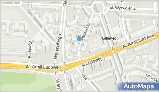 Parkomat, Mokotowska 5, Warszawa 00-640 - Parkomat