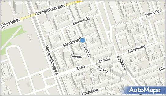 Parkomat, Jasna 1, Warszawa 00-013 - Parkomat