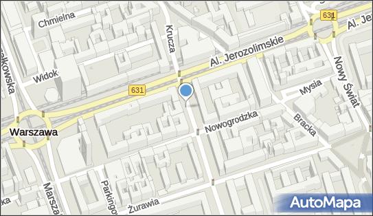 Parkomat, Krucza 47A, Warszawa 00-509 - Parkomat