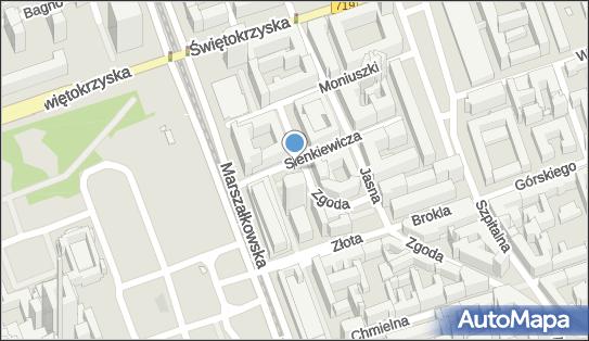 Parkomat, Sienkiewicza Henryka, Warszawa 00-010, 00-015, 00-944 - Parkomat