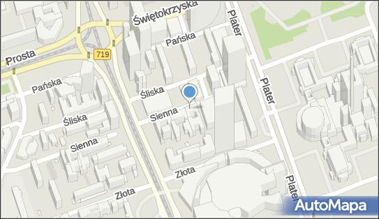 Parkomat, Sienna 43, Warszawa 00-121 - Parkomat