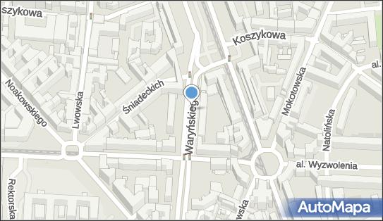Parkomat, Waryńskiego Ludwika, Warszawa 00-631, 00-636, 00-645, 00-650, 00-655 - Parkomat