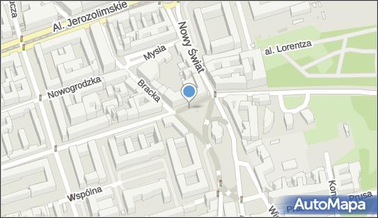 Parkomat, Plac Trzech Krzyży, Warszawa - Parkomat