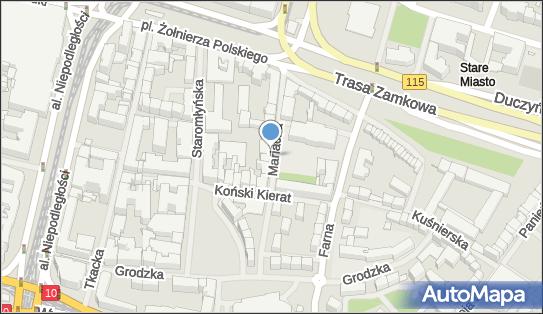 Parkomat, Mariacka 8, Szczecin 70-546 - Parkomat