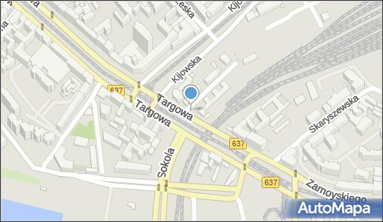 Parkomat, Targowa637 20, Warszawa 03-731 - Parkomat