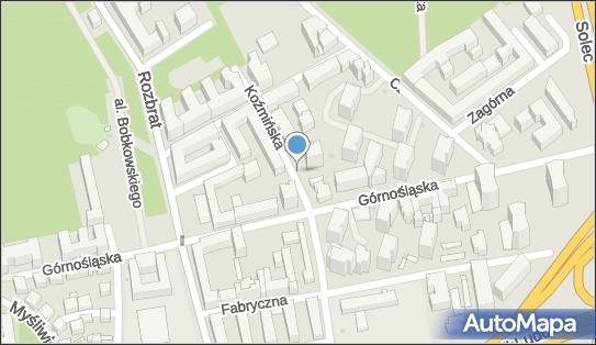 Parkomat, Koźmińska, Warszawa 00-435, 00-448, 00-452 - Parkomat