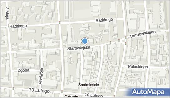 Parkomat, Starowiejska, Gdynia 81-356, 81-363 - Parkomat