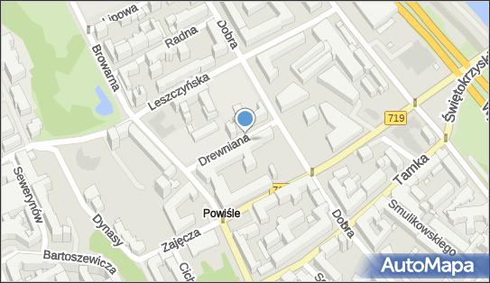 Parkomat, Drewniana, Warszawa 00-345 - Parkomat
