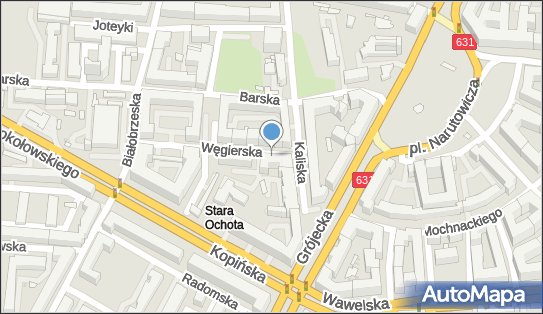 Parkomat, Węgierska, Warszawa 02-319 - Parkomat