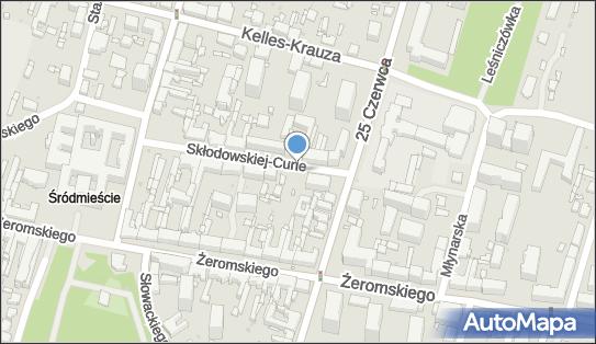 Parkomat, Skłodowskiej-Curie Marii, Radom 26-610 - Parkomat