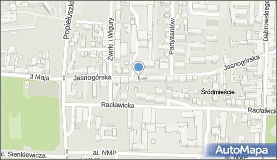 Parkomat, Jasnogórska 69, Częstochowa 42-217 - Parkomat
