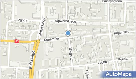 Parkomat, Glogera, Częstochowa 42-217 - Parkomat