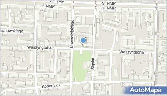 Parkomat, Waszyngtona 18, Częstochowa 42-217 - Parkomat