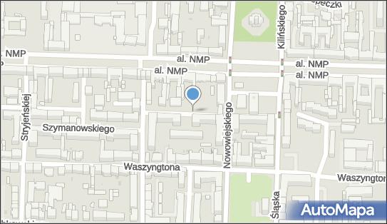 Parkomat, Szymanowskiego 3, Częstochowa 42-217 - Parkomat
