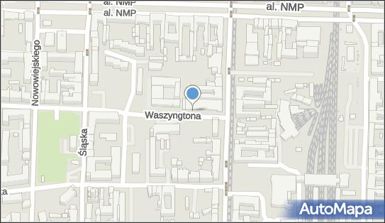 Parkomat, Waszyngtona 3, Częstochowa 42-217 - Parkomat