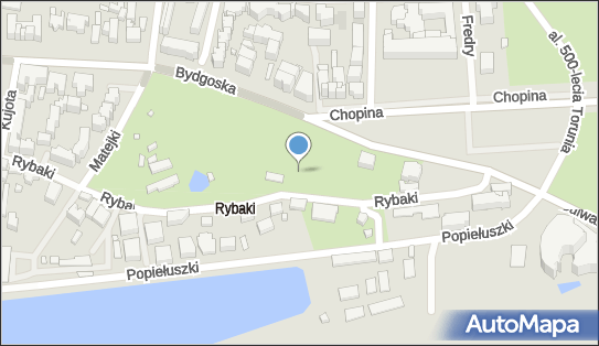 Plac zabaw, Ogródek, Rybaki 11, Toruń 87-100 - Plac zabaw, Ogródek