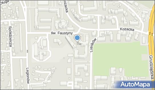 Plac zabaw, Ogródek, św. Faustyny 16a, Toruń 87-100 - Plac zabaw, Ogródek