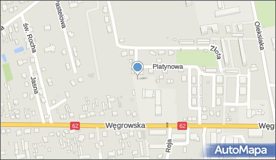 Plac zabaw, Ogródek, Platynowa 21, Sokołów Podlaski 08-300 - Plac zabaw, Ogródek