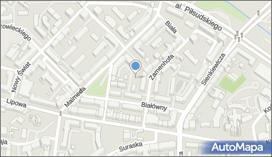 Plac zabaw, Ogródek, Zamenhofa Ludwika, dr. 1, Białystok 15-435 - Plac zabaw, Ogródek
