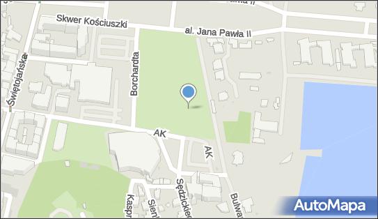 Plac zabaw, Ogródek, Bulwar Nadmorski Feliksa Nowowiejskiego 81-374 - Plac zabaw, Ogródek