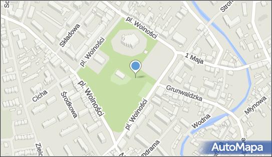 Plac zabaw, Ogródek, Plac Wolności, Olecko 19-400 - Plac zabaw, Ogródek