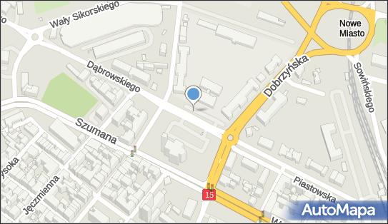 Parking Płatny-niestrzeżony, pl. św. Katarzyny, Toruń - Płatny-niestrzeżony - Parking