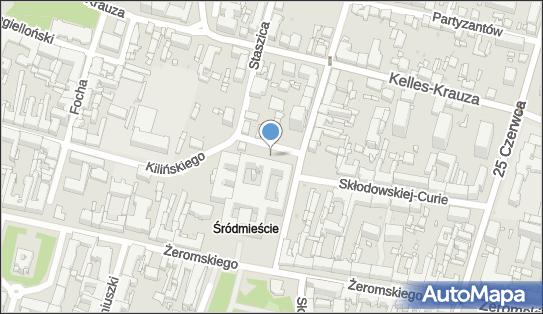 Parking Płatny-niestrzeżony, Niedziałkowskiego Mieczysława 26-610 - Płatny-niestrzeżony - Parking
