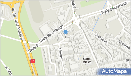 Parking Płatny-niestrzeżony, Fosa Staromiejska, Toruń 87-100 - Płatny-niestrzeżony - Parking