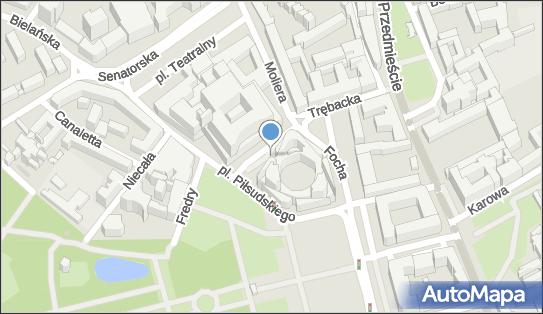 Parking Płatny-niestrzeżony, Plac marsz. Józefa Piłsudskiego - Płatny-niestrzeżony - Parking