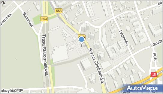 Parking, Szosa Chełmińska 25, Toruń 87-100 - Płatny-niestrzeżony - Parking, numer telefonu