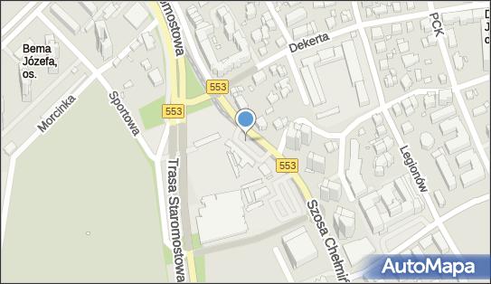 Parking, Szosa Chełmkińska 31, Toruń 87-100 - Płatny-niestrzeżony - Parking, numer telefonu