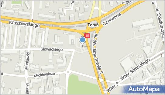 Mercure Helios Hotel, Józefa Ignacego Kraszewskiego 1/3, Toruń - Płatny-strzeżony - Parking