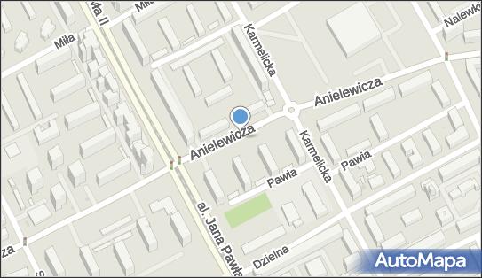 Parking Płatny-strzeżony, Anielewicza Mordechaja, Warszawa 00-157, 00-161, 00-167 - Płatny-strzeżony - Parking