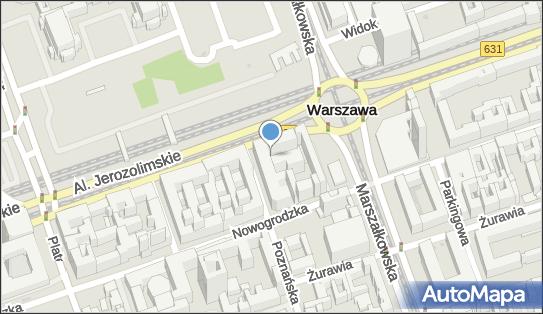 UMTS Plus, Aleje Jerozolimskie, Warszawa - Plus - UMTS