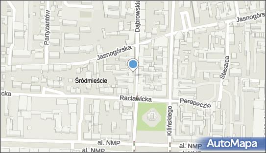 AP, ul. Dąbrowskiego 11, Częstochowa 42-202 - Przedsiębiorstwo, Firma, NIP: 5732524308