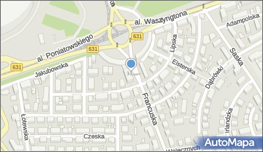 Biuro Podróży Damis Travel, Rondo Waszyngtona, ul. Francuska 49 03-905 - Przedsiębiorstwo, Firma, godziny otwarcia, numer telefonu