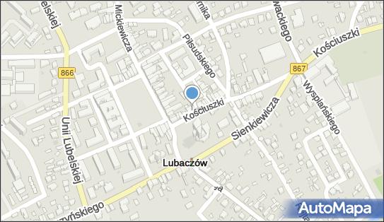 Centrum Hurtowe P P U H Halny, ul. Tadeusza Kościuszki 9, Lubaczów 37-600 - Przedsiębiorstwo, Firma, NIP: 7930000156
