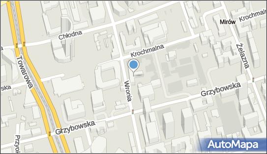 Electric Cafe, ul. Wronia 50, Warszawa 00-870 - Przedsiębiorstwo, Firma, numer telefonu, NIP: 6321792769