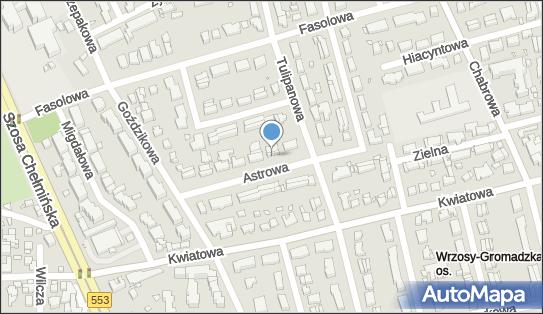 Gabinety Lekarskie, Astrowa 21, Toruń 87-100 - Przedsiębiorstwo, Firma, numer telefonu, NIP: 9561229041