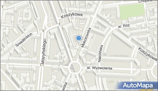 HAIR, ul. Mokotowska 23, Warszawa 00-560 - Przedsiębiorstwo, Firma, NIP: 8871671196