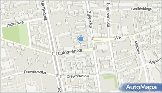 Handel Hurt Detal Obwoźny, ul. Lutomierska 5, Łódź 91-058 - Przedsiębiorstwo, Firma, NIP: 7261113304