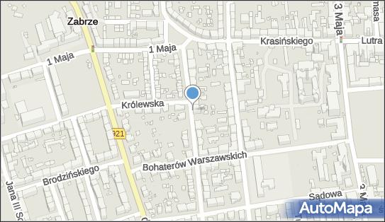 Handel Obwoźny, ul. Bolesława Wallek-Walewskiego 12, Zabrze 41-800 - Przedsiębiorstwo, Firma, NIP: 6481014176